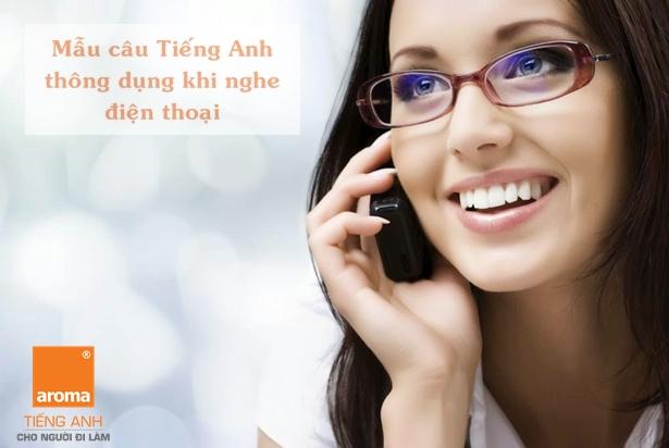 mẫu câu thông dụng khi giao tiếp qua điện thoại