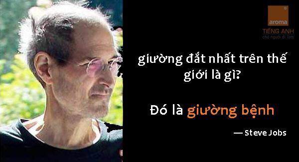 Lời trăn trối của Steve Jobs và chiếc giường đắt nhất thế giới