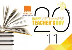 hoc tieng anh online, học tiếng anh online, 20 - 11, Nhà giáo Việt Nam