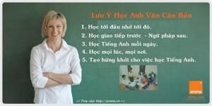 5 lưu ý cho người học anh văn căn bản
