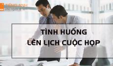 tinh-huong-len-lich-cuoc-hop-tieng-anh-kinh-te