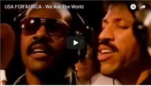 hoc tieng anh qua bài hat we are the world
