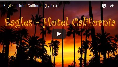 hotel california loi dich