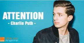 Học tiếng Anh qua bài hát Attention